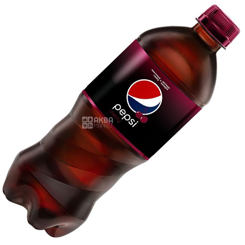Pepsi-Cola, Wild Cherry, 0,5 л, Пепси-Кола, Вайлд Черри, Дикая Вишня, Вода сладкая, ПЭТ