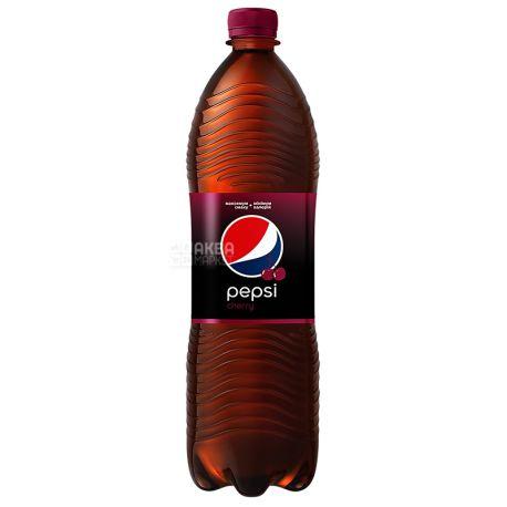 Pepsi-Cola, Wild Cherry, 1,5 л, Пепси-Кола, Вайлд Черри, Дикая Вишня, Вода сладкая, ПЭТ