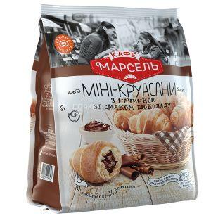 Кафе Марсель, 180 г, Міні-круасани, Шоколад