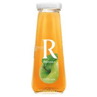 Rich, Яблочный, 0,2 л, Рич, Сок осветленный, стекло