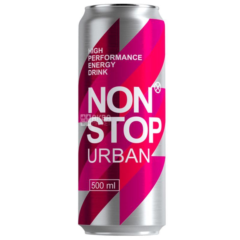 Non Stop Urban, 0,5 л, Напиток энергетический Нон Стоп Урбан, Арбуз