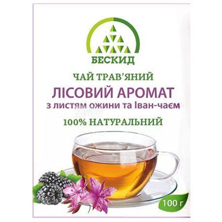 Beskid, 100 g, Herbal Tea, Forest Flavor, With Blackberries and Ivan Tea