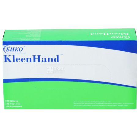 KleenHand, 100 шт., Перчатки нитриловые, нестерильные, без пудры, размер S