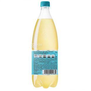 Schweppes, Bitter Lemon, 1 л, Швепс, Ориджинал Биттер Лимон, Вода сладкая, с натуральным соком, ПЭТ