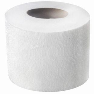 Wellis, Туалетная бумага, двухслойная, Джамбо, белая, целлюлоза, 20 м