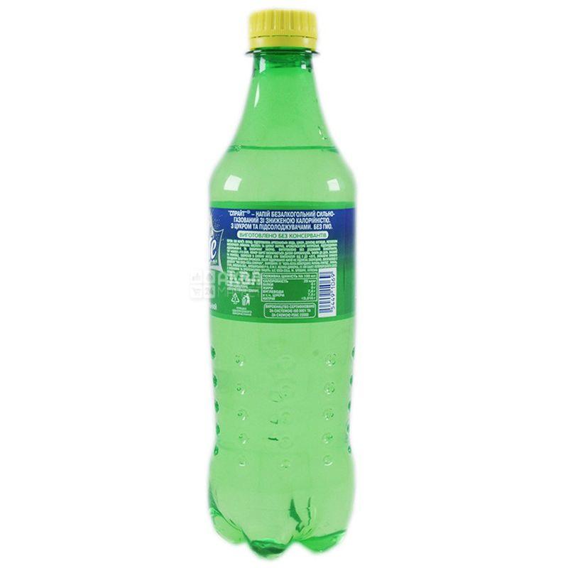 Sprite, Упаковка 12 шт. по 0,5 л, Спрайт, Вода солодка, зі смаком лайма і лимона, ПЕТ