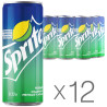 Sprite, Packing 12 pcs. on 0,33 l, Sweet water, can