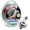 Philips, 2шт, Галогенні лампи, VisionPlus H4, Блистер