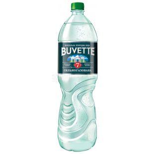 Buvette №7, 1,5л, Вода сильногазированная, ПЭТ