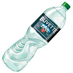 Buvette №7, Вода минеральная сильногазированная, 1,5 л