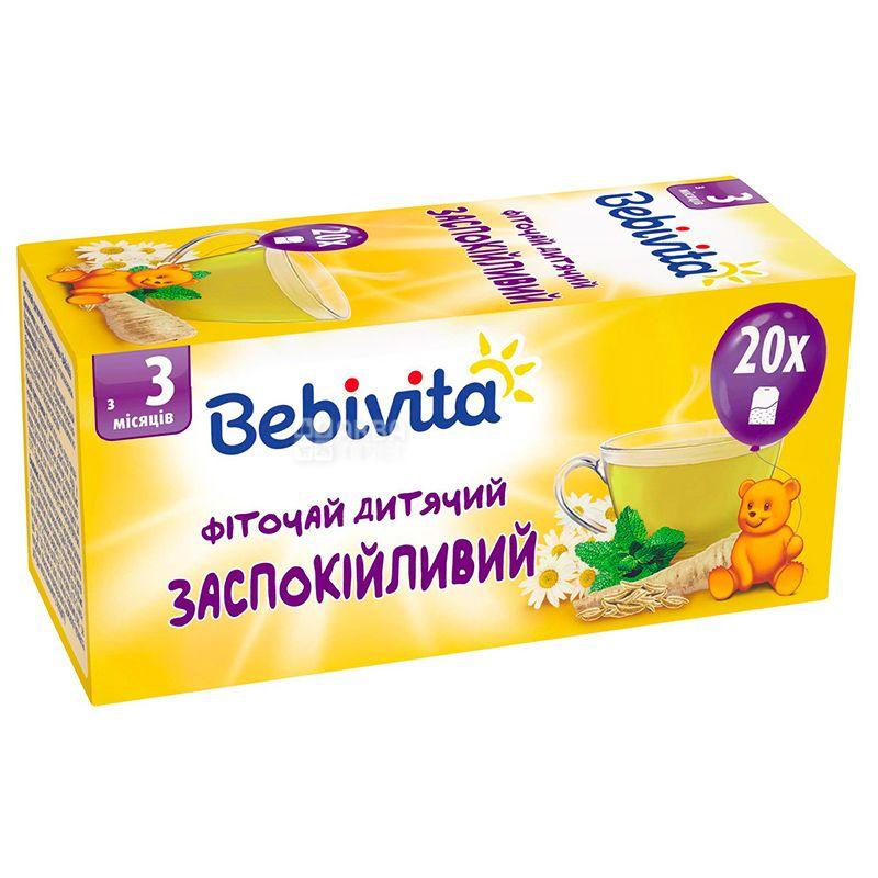 Bebivita, 30 г, Чай, Детский успокоительный