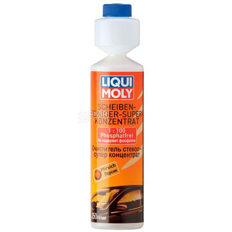 Liqui Moly Персик, 250 мл, Концентрат 1:100, Очиститель стекол, Scheiben-Reiniger, Super Konzentrat, ПЭТ