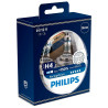 Philips, 2 pcs., Halogen lamp, Racing Vision H4 + 150%, Blister