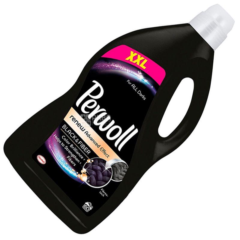 Perwoll, 3,6 л, Средство для стирки темных тканей, Renew Advanced Effect, Black and Fiber