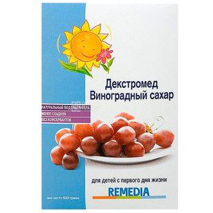 Декстромед, 500 г, Виноградний цукор, Для дітей з народження, Картонна упаковка