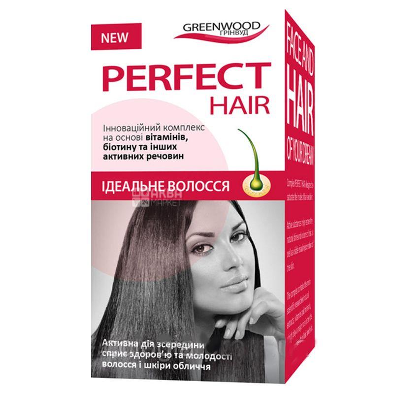 Greenwood Ідеальне волосся, 30 кап., Для зміцнення волосся