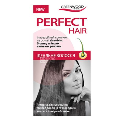 Greenwood Ideal Hair, 30 cap., To strengthen the hair