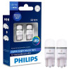 Philips, 2 шт., Лампа светодиодная, W5W X-tremeUltinon, 6000K