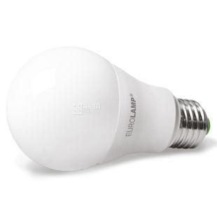 EUROLAMP, 10 W, E27, LED Light Bulb, ECO, 6500K (neutral), A60, Matte