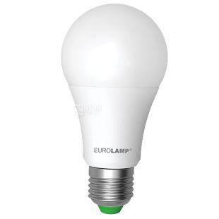 EUROLAMP, 12 Вт, E27, Лампочка Светодиодная, ЭКО, 4000К (нейтральный свет), A60, Матовая