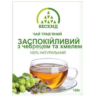 Beskid, 100 g, Herbal tea, Soothing, With thyme and hops