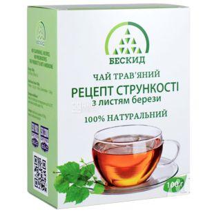 Бескид, Рецепт стройности,100 г, Чай травяной, с листьями березы