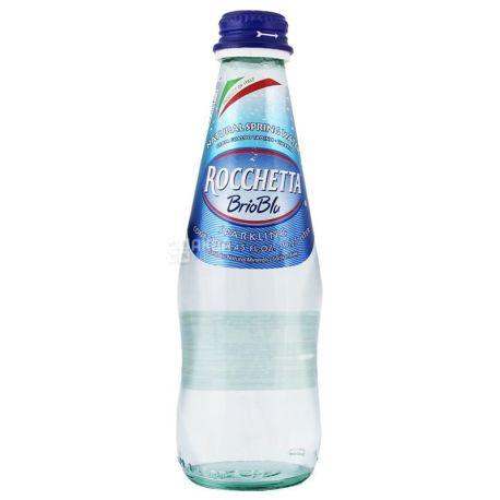 Rocchetta Brio Blu, 0,25 л, Рочетта Бри Блю, Вода минеральная газированная, стекло