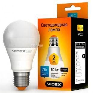 TITANUM, 7 Вт, E27, Лампочка Світлодіодна, 3000K (тепле біле світло), А60е