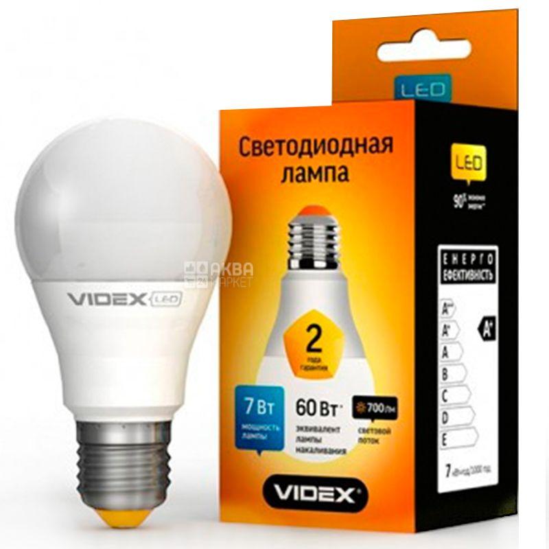 TITANUM, 7 Вт, E27, Лампочка Світлодіодна, 4100К (нейтральне біле світло), А60е