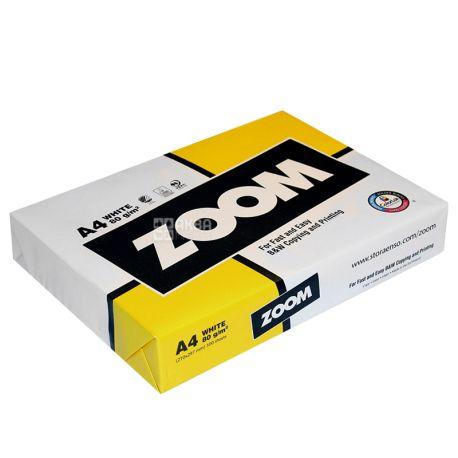 Zoom Бумага А4, 500 л, Класc С, 80г/м2