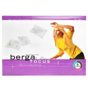 Бумага А4 Berga Focus, 500л, Класс С, 80 г/м2
