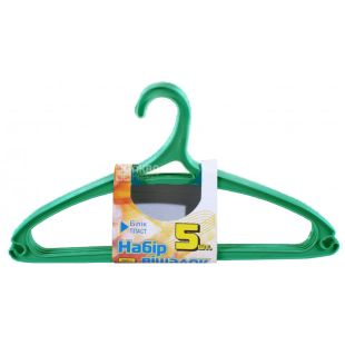 Blisk Plast, 5 pcs., Hanger, Plastic, m / u