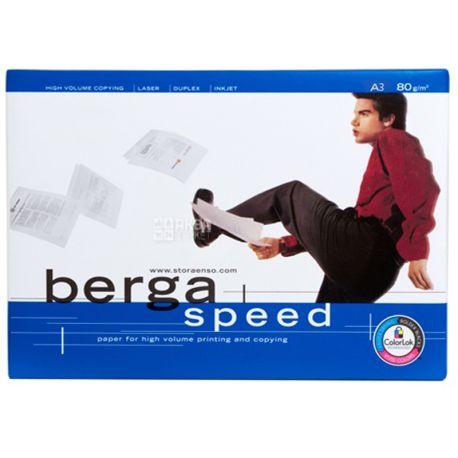 Berga Speed, 500 л, Папір А3, Клас С
