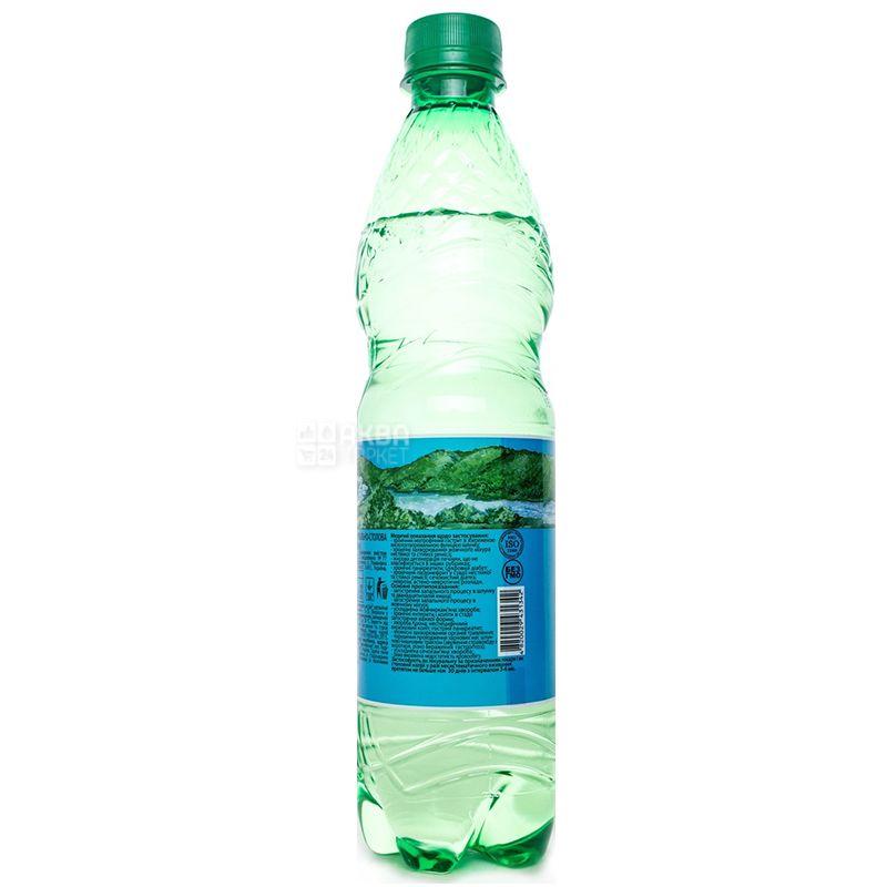 Збручанская 77, Вода минеральная сильногазированная лечебно-столовая, 0,5 л, ПЭТ
