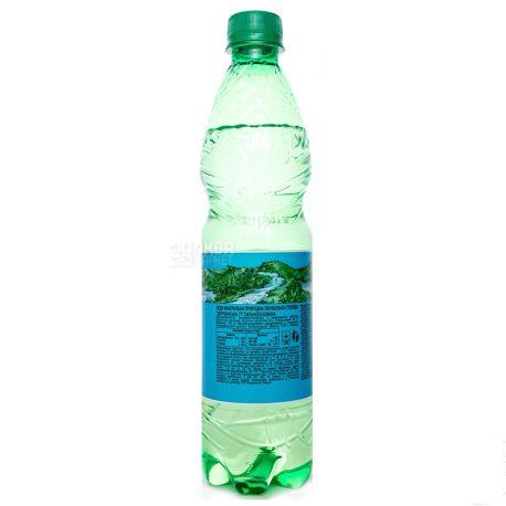 Збручанська 77, Вода мінеральна сильногазована лікувально-столова, 0,5 л, ПЕТ, ПЕТ