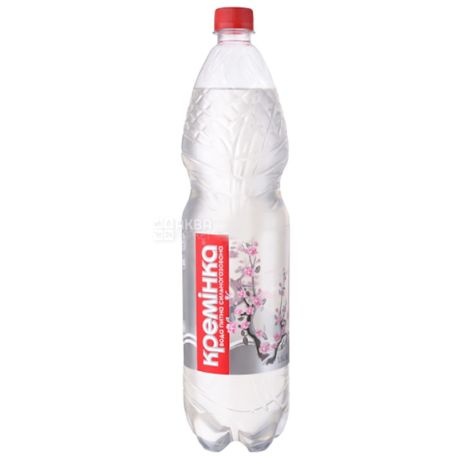 Кремінка, 1,5 л, Вода мінеральна сильногазована, ПЕТ