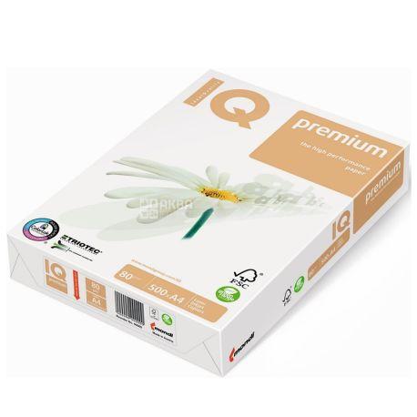IQ Premium 500 л, Бумага А4, Класс В, 80г/м2