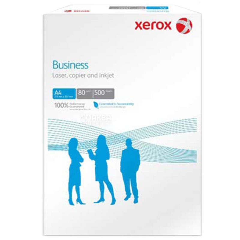 Xerox Business, 500 л, Бумага А4, Класс А
