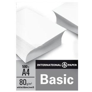 IP Basic, 500 л, Папір А4, Клас С, 80г/м2