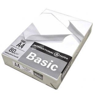 IP Basic, 500 л, Бумага А4, Класс С, 80г/м2