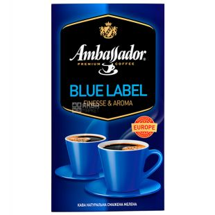 Ambassador Blue Label, 450 г, Кофе молотый Амбассадор Блю Лэйбл