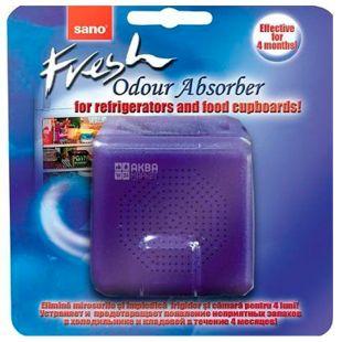 Sano, 1 шт., Поглинач запахів для холодильника, Fresh Odor Absorber, ПЕТ