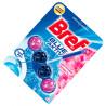 Bref, Blue aktiv, 1 шт., Блоки для унитаза 4 в 1, Цветочная свежесть, эффект синей воды