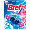 Bref, 1 pc., Blocks for the toilet, Active Force, Formula 4 in 1, Flower freshness, PET