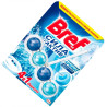 Bref, 1 шт., Блоки для унитаза, Сила Актив, Формула 4 в 1, Океанская свежесть, ПЭТ