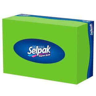 Selpak, 70 шт., Серветки гігієнічні, Міні Макс, Тришарові, В коробці