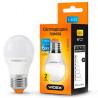 Videx, 1 шт., 6 Вт, E27, Лампочка Світлодіодна, 4100K (нейтральне біле світло), G45e, 220 V
