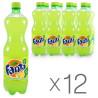 Fanta, Packing 12 pcs. 0.5 l, Lemon, PET