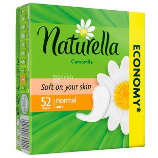 Naturella, 52 шт., Прокладки щоденні, Normal Trio Camomile