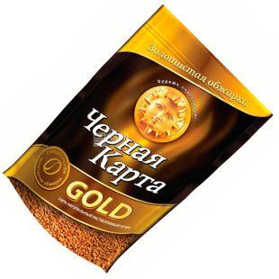 Чорна карта, 140 г, Gold, Розчинна кава, м/у